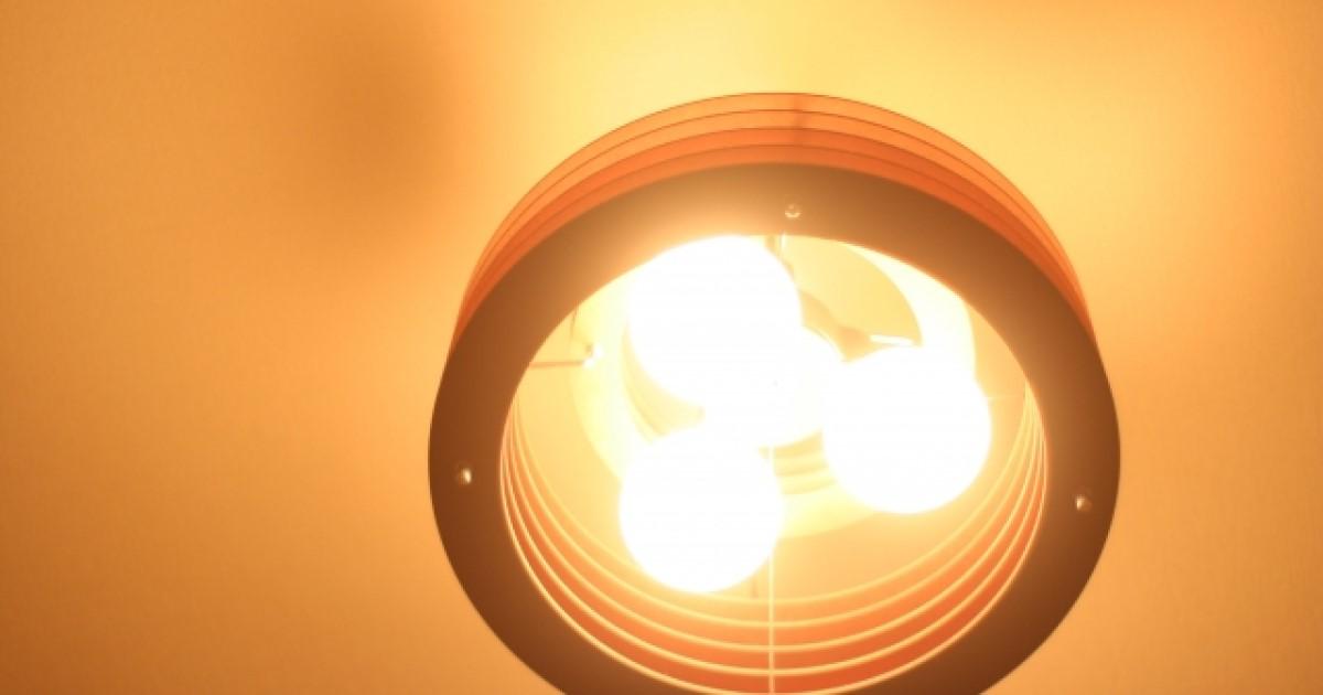 シーリングライト取り付け(LED照明)ワンタッチで簡単!手順確認