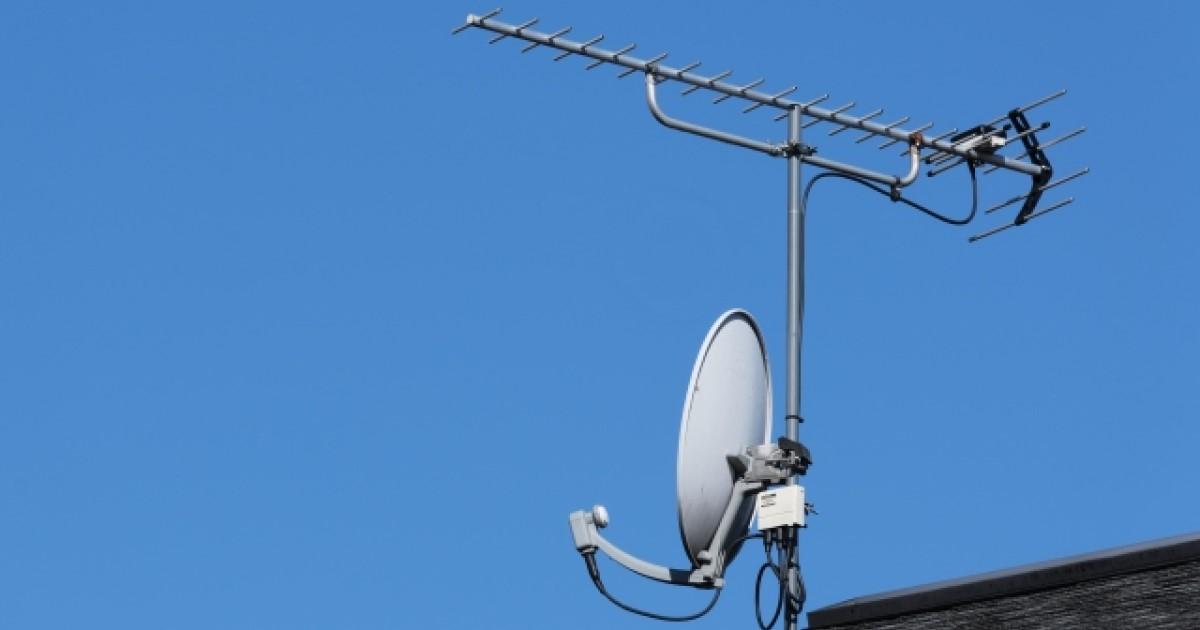 テレビのアンテナレベルが低い原因はなに?アンテナレベルの確認方法