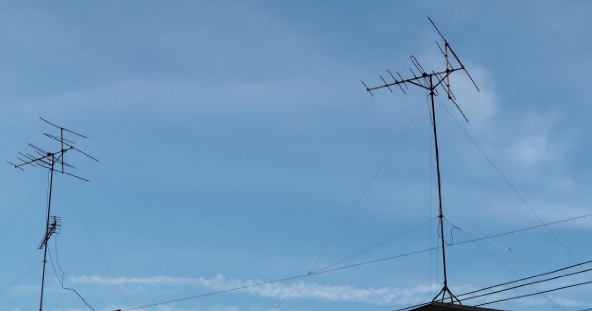 VHFとUHFの違いとは?使わないアンテナは撤去するのがおすすめ