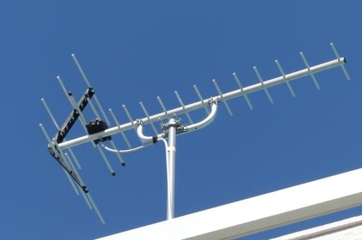 地デジ放送のアンテナ