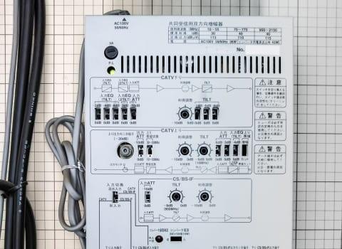 ブースターの接続方法