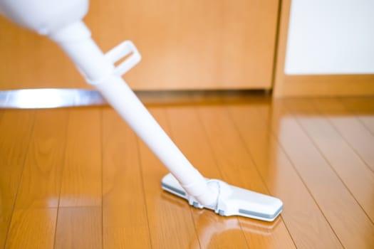 ドレンホースの清掃方法1 掃除機を使う